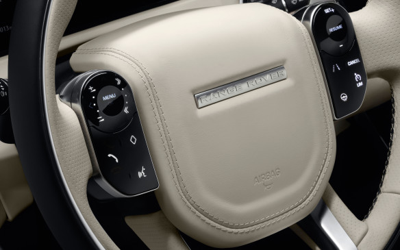 <p>The control pads on either side of the steering wheel's cushy hub are both touch-sensitive. In addition, the left-side pad is configurable through its own menu, all selections shown on a section of the large, high-definition display in the main instrument cluster behind the wheel. In addition, icons and symbols change according to the selected function and are always as perfectly clear and neat as if they were printed, white-on-black. It's all quite clever, actually, but for these controls, as well as the numerous menus on the main screens, there definitely is a learning curve.</p>