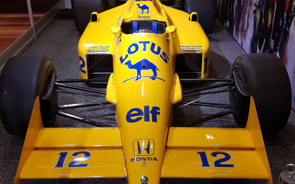 <p><strong>Driven by Ayrton Senna -</strong> Toronto show-goers will find themselves in the presence of a special treat: a car in near-original condition raced by the legendary Ayrton Senna himself. The 1987 Lotus 99T was driven to two race wins by Senna that year: in Monaco, where he scored the first of an eventual six wins at the famed circuit, and in Detroit. It set of a streak of success that led to his switch to the iconic Marlboro McLaren-Honda team in 1988 where he won the first of his three World Championships.</p>