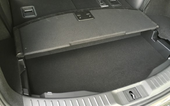 <p>A handy storage bin is located under the cargo area floor behind the third-row seats. It's ideal for storing items you'd like to out of sight for prying eyes.</p>