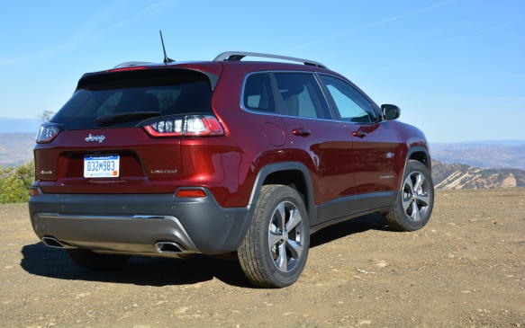 <p>The Cherokee's rear end came off looking rather pedestrian, especially compared to its unique front, so a re-do was in order. Jeep created a more chiseled tailgate featuring new LED taillights with a red trace at the bottom. The license plate was also moved into the liftgate to aid in creating additional cargo space.</p>