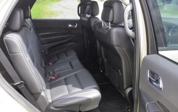 2012 Dodge Durango - rear seats