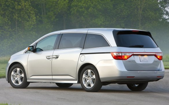 <p><strong>Minivan – Honda Odyssey: </strong>Honda and Toyota have alternated wins back and forth with their Odyssey and Sienna minivans respectively but for the second year in a row, the Honda gets the nod. Its V-6 engine is refined and reasonably fuel efficient, and the company's long-term reliability helps here. Second-placed Sienna is the only entrant with available all-wheel-drive, while the rarely-seen Nissan Quest finished third.</p>