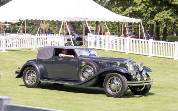<p>Overall Best in Show – American, was this 1931 Stutz DV32 Convertible Victoria.</p>
