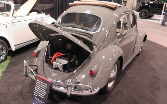 <p>Zelectric Motors will bring your air-cooled Volkswagen into the 21<sup>st</sup> century or locate and customize one for you. Porsches, Karmann Ghias, Things, and Buses, all are candidates. The result is an electric VW with a 22 kWh lithium-ion battery pack, 65 kWh electric motor supplying 120 lb. ft. of torque and a 130-km. There is a built-in charge port for Level 1 or 2 home or public charging.</p>