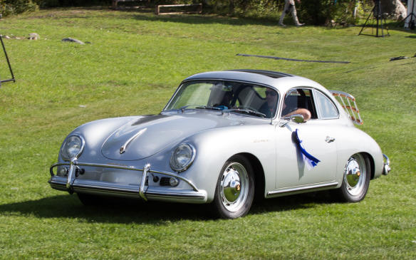 <p>Winner of that class was this lightweight 1959 Porsche 356A Carrera 1600 GS Reutter Coupe.</p>