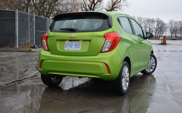 <p>Typically, we would keep pricing details until the end of a report but for the Spark pricing is everything. Currently, it has the lowest starting price for any 2016 model year car at $9,995 before freight and taxes (although the Nissan Micra is expected to come in at $9,988 when its 2017 pricing is revealed).</p>