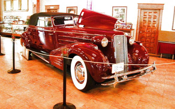 <p>While there are always thousands of cars to view, Plunkett's own collection is a big attraction on its own. He has two museums that accommodate more than 70 cars, including a purpose-built structure that replicates the ballroom of New York's Waldorf Astoria hotel, where decades ago automakers held their vehicle reveals amid much pomp and ceremony. This museum holds the most prized vehicles in Plunkett's collection – mostly Cadillacs dating back to 1907, including several rare and one-off custom-built models.</p>