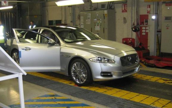 2012 Jaguar XJ Coventry production line