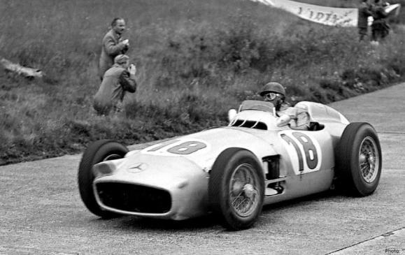 Mercedes-Benz W196, Juan Manuel Fangio