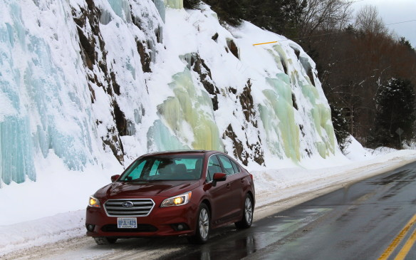<p>Ice can be very beautiful when it's not on the road surface.</p>
