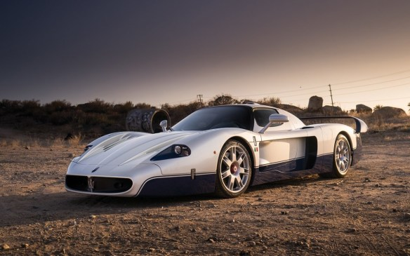 <p>One of the newest cars in the auction but exceedingly rare, this 2005 Maserati MC12sold for $1,430,000 (USD).</p>