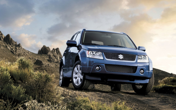 <p><strong>2009-13 Suzuki Grand Vitara</strong></p> <p>A 166-hp DOHC 2.4-L four cylinder was the base engine, working through a five-speed manual or four-speed automatic transmission. The optional 3.2-L V-6 made 230 horses, tied to a five-speed automatic. The V-6 was dropped for 2011, leaving the four-banger to soldier on. Safety was enhanced with more airbags and standard traction control on all models. The Grand Vitara won fans for its stout construction, genuine off-road credentials, useful towing capacity, good value and relative exclusivity. Weaknesses include its lethargic powertrains and cramped cabin.</p>