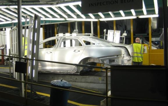 2012 Jaguar XJ Coventry production line - 3