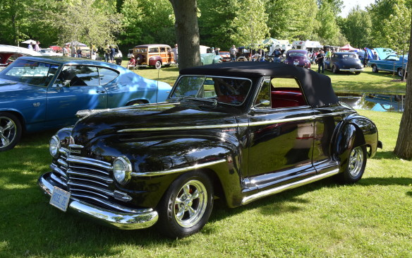 <p>1946-48 Plymouth Convertible</p>