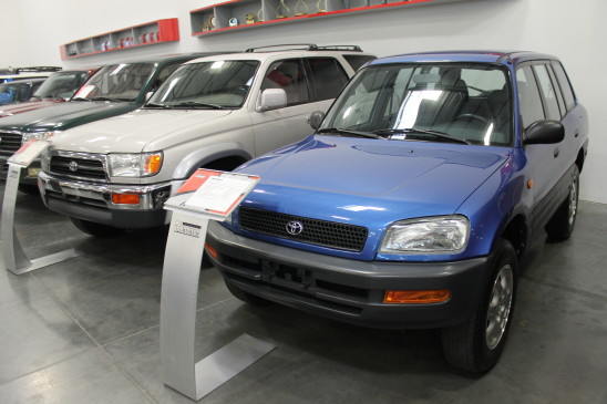 <p>Toyota's Recreational Activity Vehicle started out small but popular, as you can see with this first-generation model, but grew in size to become one of the company's best-sellers. It's the most popular Toyota in Canada.</p>