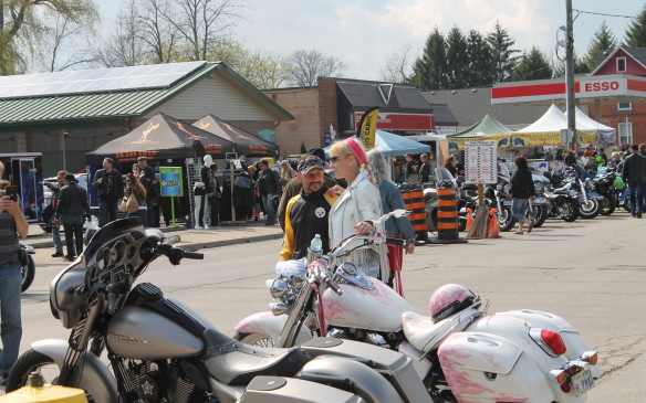 <p>It's an opportunity to meet like-minded people and talk about motorcycles with them.</p>