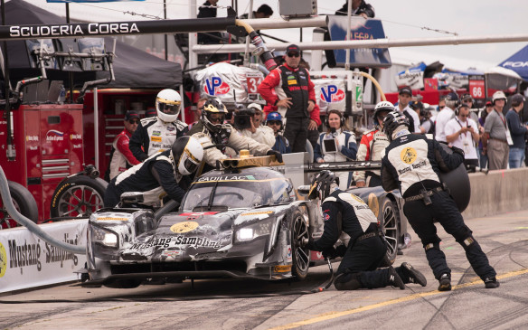 <p>While details were not discussed, Russell hinted that Cadillac's success with its DPi-V.R prototype will be important in the brand's communications going forward.</p>