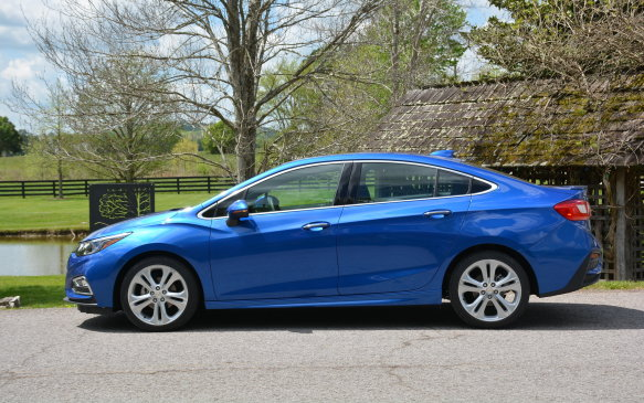 <p>Pricing for the 2016 Chevrolet Cruze starts out at $15,995 for the base L with a manual transmission. The second-generation model now has a better engine, better looks, better fuel economy and more interior space than the previous iteration for less money. The same can be said for all of the trims that top out at a very reasonable $23,895 for the Premier.</p>