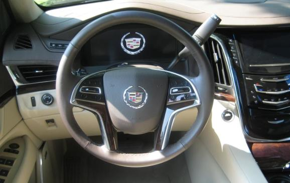 2015 Cadillac Escalade - steering wheel