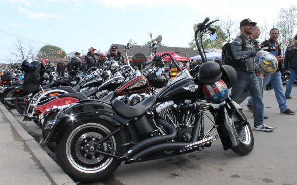 <p>Whenever the 13th day of the month falls on a Friday, the motorcycles come to Port Dover, Ontario.</p> <p>Words and pictures by Mark Richardson</p>