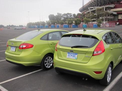 2012 Ford Fiesta bodystyles