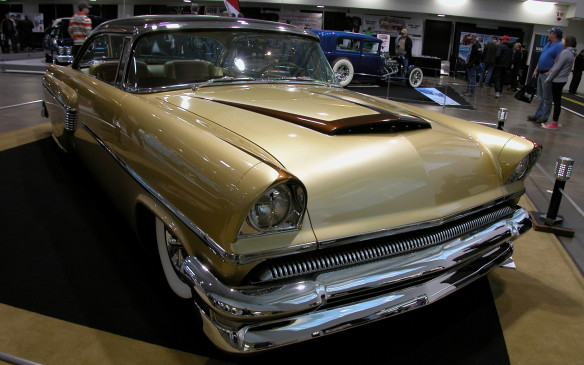 <p>This immaculate 1956 Mercury Monterey custom was designed by owner John St. Germain.</p>
