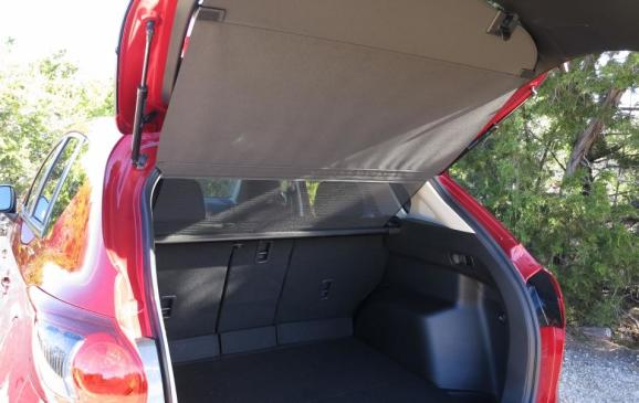 2014 Mazda CX-5 - cargo area and cover