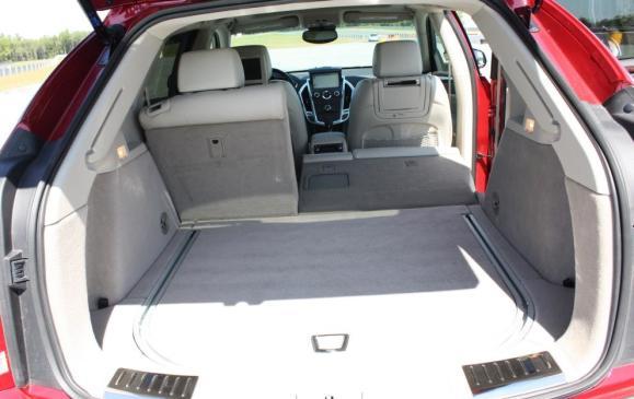 2010 Cadillac SRX - cargo area