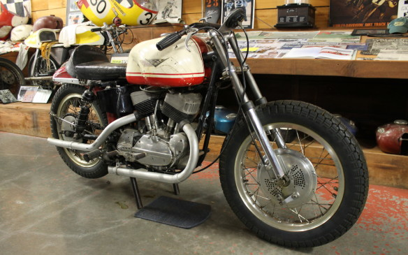 <p>And this Harley XR750 road racer from the 1970s, the superbike of its day.</p>