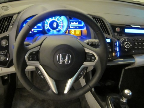 2011 Honda CR-Z  dashboard
