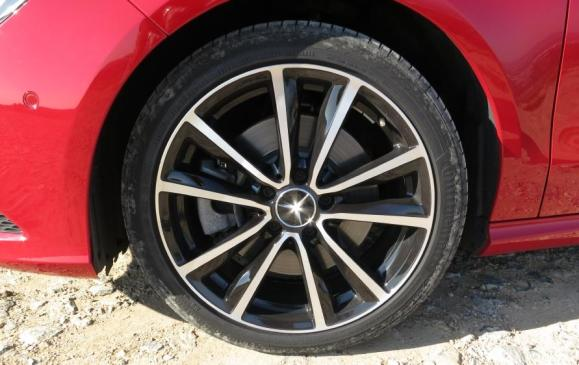 2014 Mercedes-Benz CLA - wheel detail