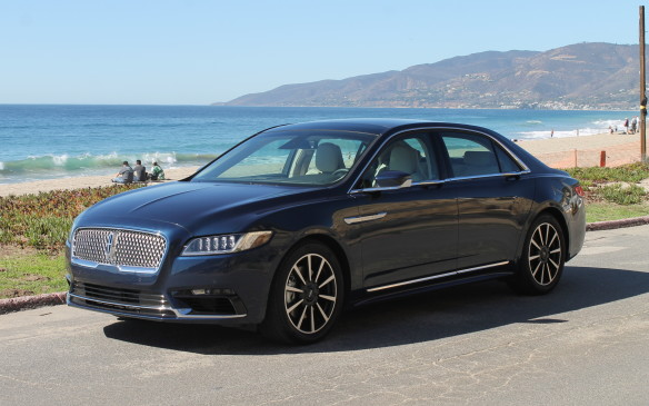 <p>The new car certainly looks prestigious from the outside. Its standard wheels are 19 inchers, like those seen here, though 20-inch wheels with specially-created tires are also available.</p>