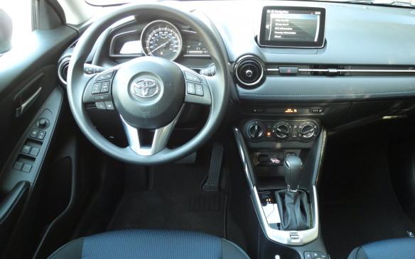 <p>2016 Toyota Yaris</p>
