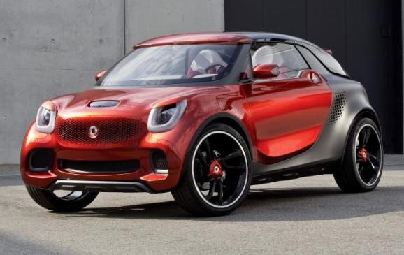 Smart Forstars Coupe Concept - front 3/4 view