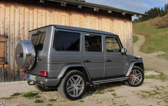2013 Mercedes-Benz G 63 AMG - Rear