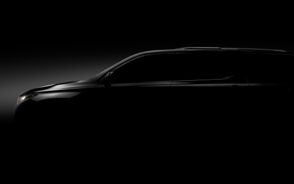 <p>After the 2017 GMC Acadia was released, it's now time for its sister, the Chevrolet Traverse, to have its day. The 2018 full-size Traverse SUV will share the same architecture as the Acadia and Buick Enclave, and be revealed in Detroit.</p> <p>It's been nine years since the Traverse has seen a major redesign, and it seems that 2017 will be the year that many stale crossovers and SUVs get the attention they've been lacking. Only teaser images have been shown, but Chevrolet is stating that the Traverse will seat up to eight passengers and offer segment-leading third-row legroom.</p>