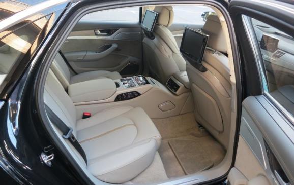 2015 Audi A8 - back seat