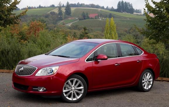 2012 Buick Verano - front 3/4 view