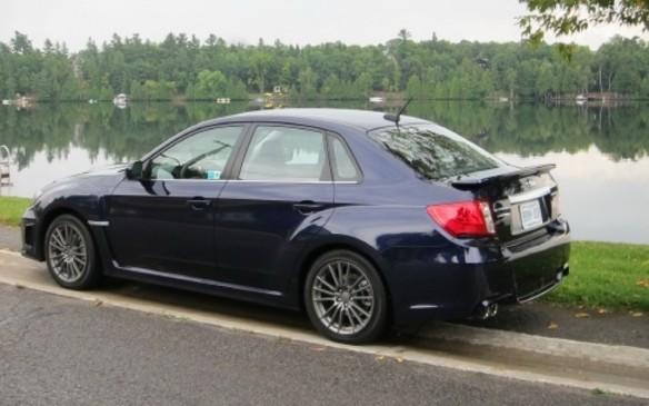 Subaru WRX 2011 rear