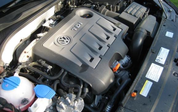 2012 VW Passat TDI - Engine