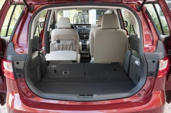 2012 Mazda5 cargo