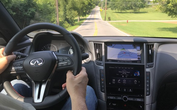 <p>The Q50 competes with the Lexus IS, BMW 3 Series, Mercedes-Benz C-Class and Audi A4. That's a tough field to take on. How does it stack up now? We drove the top-of-the-line Red Sport edition through the countryside around Nashville to find out.</p>