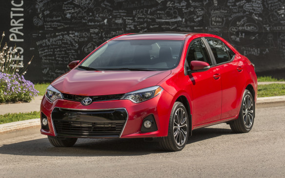 <p>The Canadian-built Toyota Corolla, significantly revamped for 2015, still ranked third in the overall passenger car standings.</p>