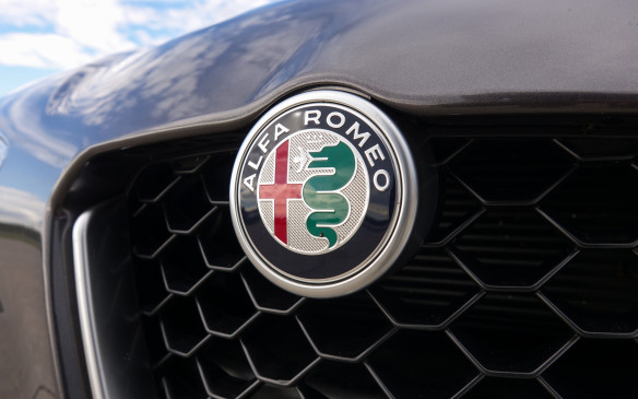 <p>The Alfa Romeo crest arguably is one of the most beautiful in the world of automobiles. It was designed in 1910, by a young artist working for Anonima Lombarda Fabbrica Automobili (A.L.F.A.) that had just been founded in Milan, Italy. The red cross is from the city's emblem and the giant green viper swallowing a Moor (so the story goes) represents the Visconti family that ruled the city in the Middle Ages. The full name Alfa Romeo came in 1920, five years after the company had been taken over by entrepreneur Nicola Romeo.</p>