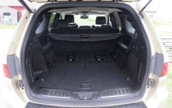2012 Dodge Durango -cargo bay, rear seats folded