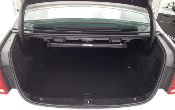 2014 Mercedes-Benz E-Class - trunk
