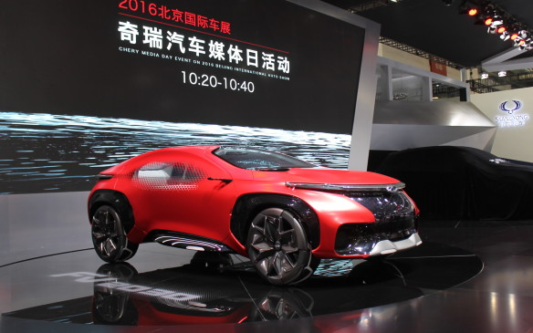 <p>One of the big hits of the show was Chery's FV2030, a pure concept that's supposed to demonstrate what a Future Vehicle might look like 14 years from now.</p>
