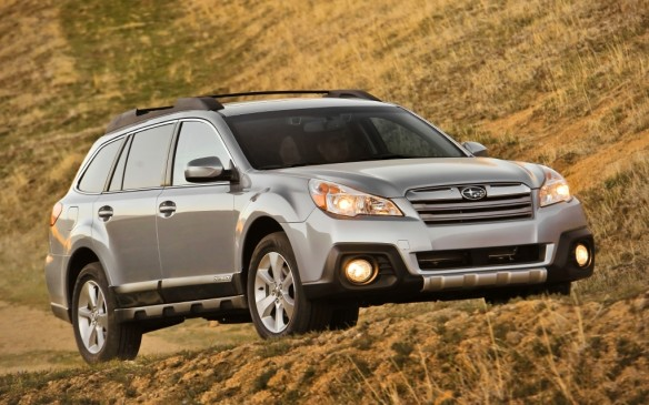"<p><strong>2010-13 Subaru Outback</strong></p> <p>In its fourth generation, the wagon-only Outback – which was among the first all-wheel-drive cars to be dubbed a ""crossover"" in 1994 – finally addressed its tight rear quarters with a 7-cm-longer wheelbase, allowing for bigger rear doors and 10 cm of added legroom. Changing the previous car's multilink rear suspension to a control-arm setup created a more usefully shaped cargo hold. Like all Subarus, the Outback featured standard symmetrical all-wheel-drive since the ""boxer"" engine architecture permitted equal-length output shafts.</p>"