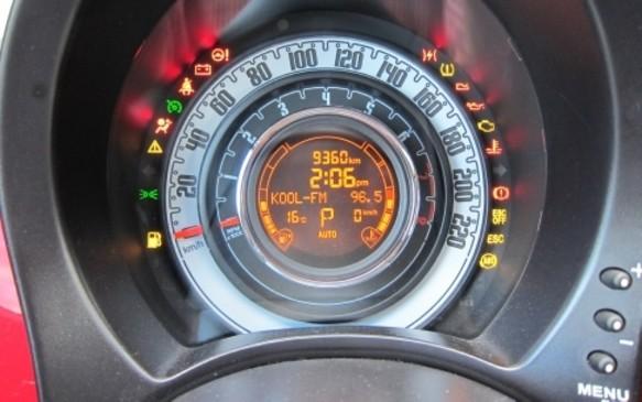 2012 Fiat 500 Gauge
