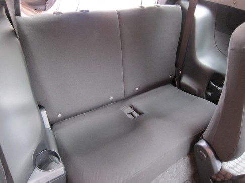 2012 Scion iQ rear seat